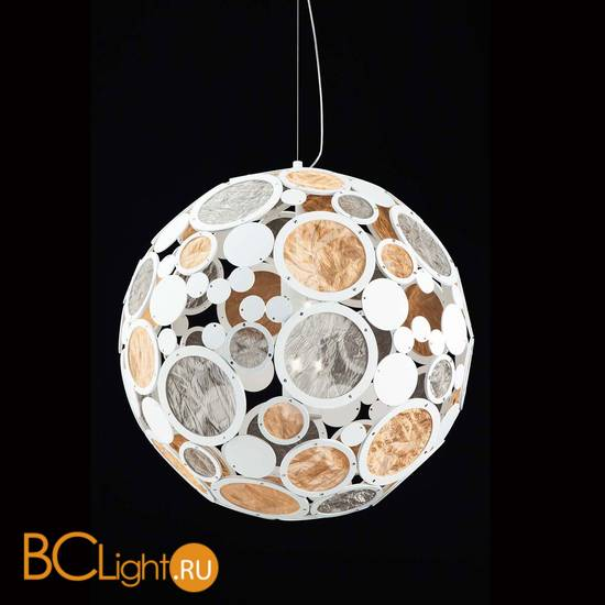 Подвесной светильник IDL Charleston 567/72/E velvet white