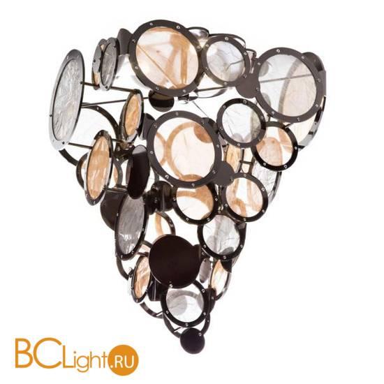 Потолочный светильник IDL Charleston 566/3PF black nickel