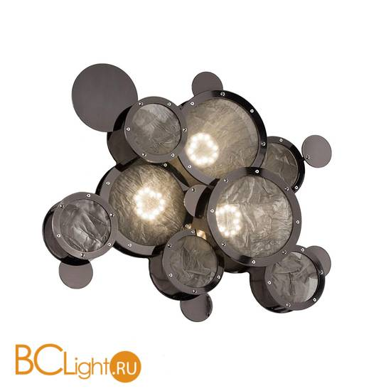 Настенно-потолочный светильник IDL Charleston 566/3A-PF black nickel