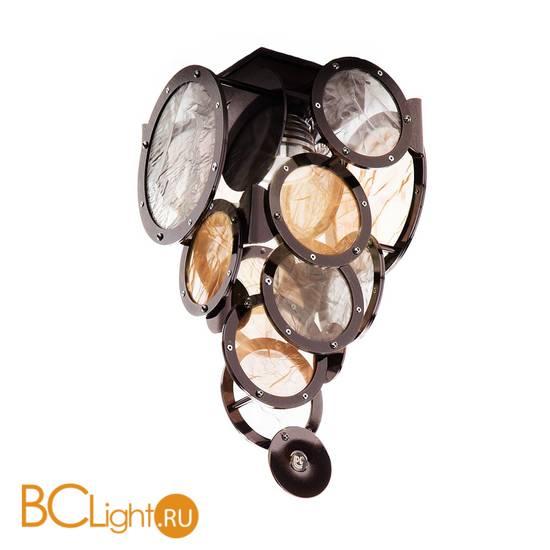 Потолочный светильник IDL Charleston 566/1PF black nickel