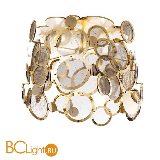 Потолочный светильник IDL Charleston 567/4PF light gold