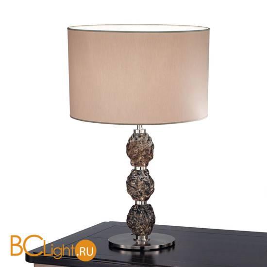 Настольная лампа IDL Charme 600/1LG steel dove grey fume