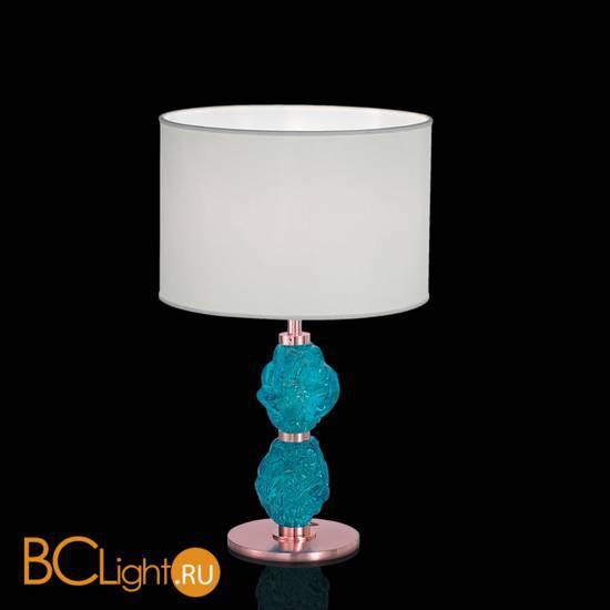 Настольная лампа IDL Charme 600/1LM coppery ivory blue