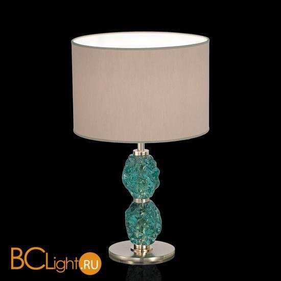 Настольная лампа IDL Charme 600/1LM bronze dove grey green