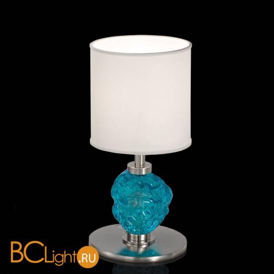 Настольная лампа IDL Charme 600/1LP steel ivory blue