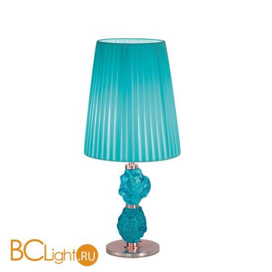 Настольная лампа IDL Charme 601/1LM coppery blue blue