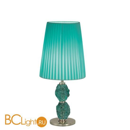 Настольная лампа IDL Charme 601/1LM steel green green