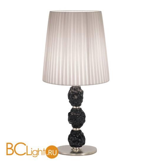 Настольная лампа IDL Charme 601/1LG steel ivory black