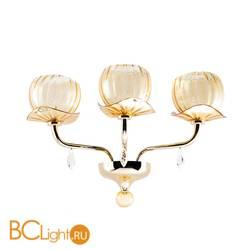 Бра IDL Dafne 545/3A light gold amber