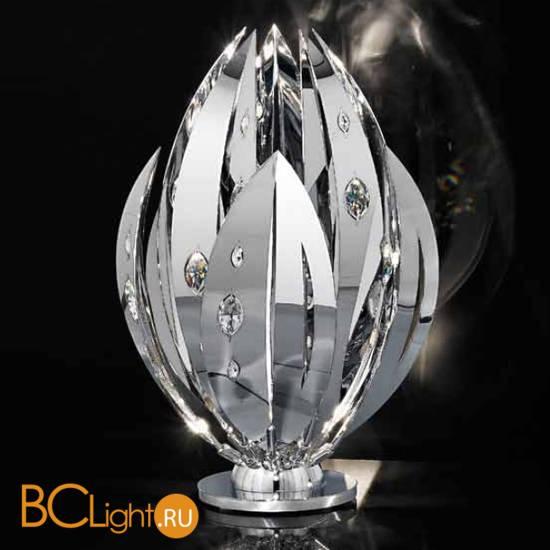 Настольная лампа IDL Crystal Palm 470/3L Chrome