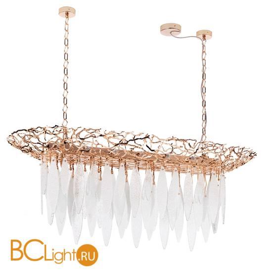 Подвесной светильник IDL Elite 596/150 bronze transparent