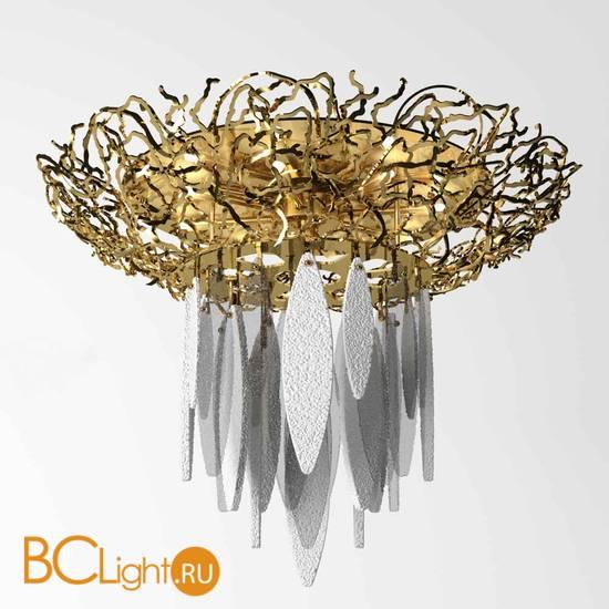 Потолочный светильник IDL Elite 596/8+1PF light gold white