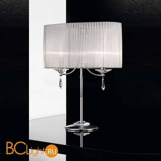 Настольная лампа IDL Fashion 9027/2L Chrome ice