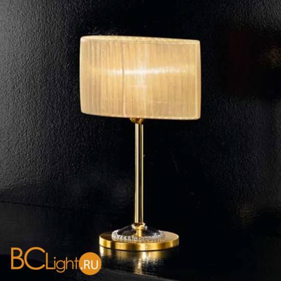 Настольная лампа IDL Fashion 9027/2L Gold ambra