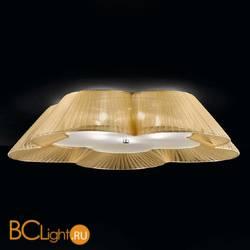 Потолочный светильник IDL Fiore 9032/5PFG ambra