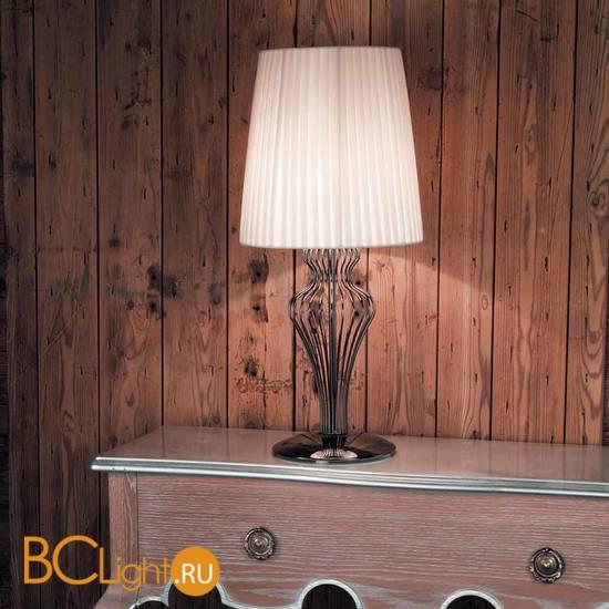 Настольная лампа IDL Glamour 583/1L black nickel ivory