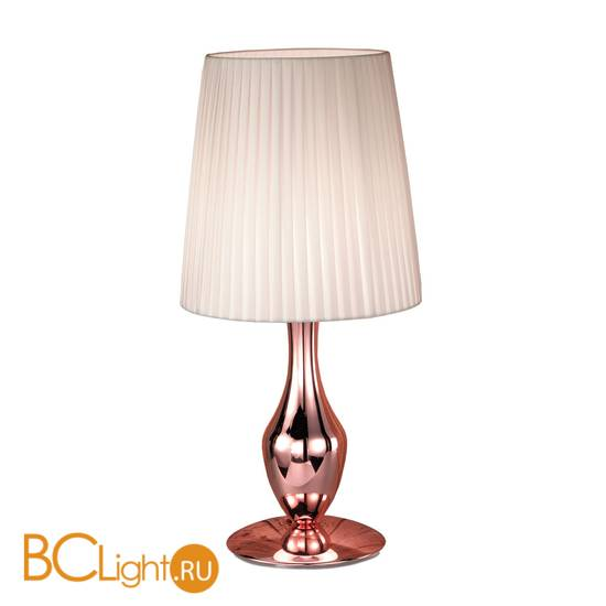 Настольная лампа IDL Glamour 531/1L coppery ivory