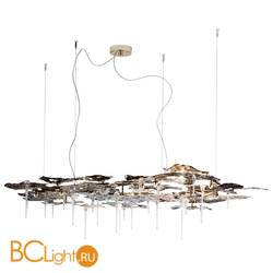 Подвесной светильник IDL Leaves 605/16 light gold