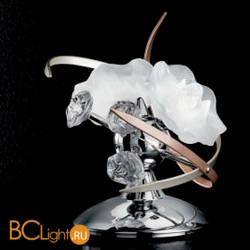Настольная лампа IDL Bouquet 426/2L Bronze Chrome White