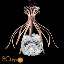 Потолочный светильник IDL Bouquet 426/6PF Bronze Chrome Transparent