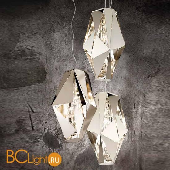 Подвесной светильник IDL Crystal Rock 476/4 Pure Steel
