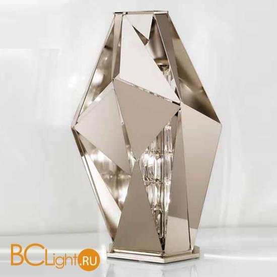 Настольная лампа IDL Crystal Rock 476/3L Pure Steel