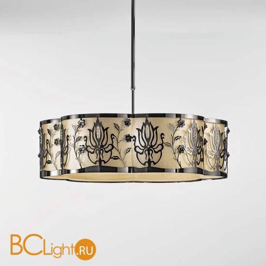 Подвесной светильник IDL Margot 539/6 nickel+Gold lame