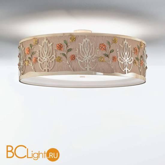 Потолочный светильник IDL Margot 537/100PF soft ivory+Canapa