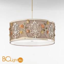 Потолочный светильник IDL Margot 537/70 soft ivory+Canapa
