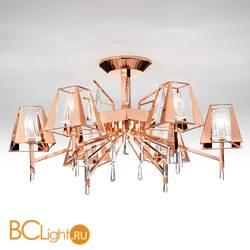 Потолочная люстра IDL Prestige 532/6PF copper