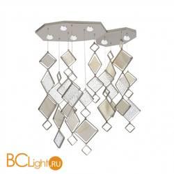 Потолочный светильник IDL Quadrie 565/M4PF+565/M2PF chrome + transparent with white onyx