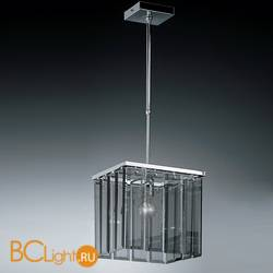 Подвесной светильник IDL Roma 359/1SP chrome + GREY engraving