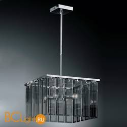 Подвесной светильник IDL Roma 359/4S chrome + GREY without engraving