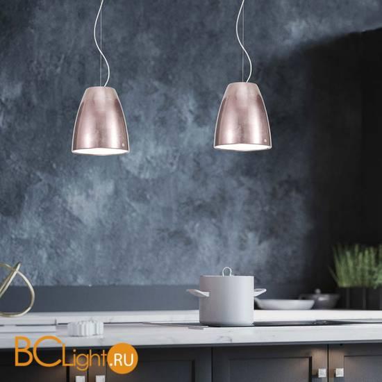 Подвесной светильник IDL Saba 580/1SM pink leaf