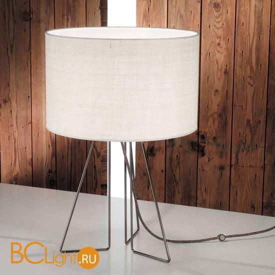 Настольная лампа IDL Seventy 587/1LG steel light jute