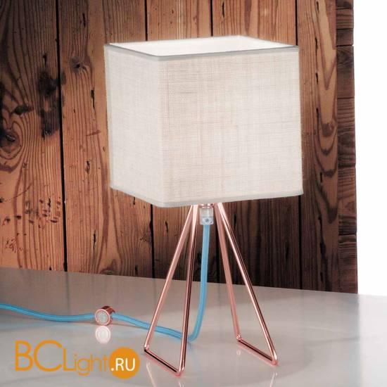 Настольная лампа IDL Seventy 589/1L coppery light jute