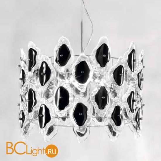 Подвесной светильник IDL Sofia 488/5 Chrome+black
