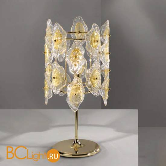 Настольная лампа IDL Sofia 488/1LP Light gold+GoldMurano