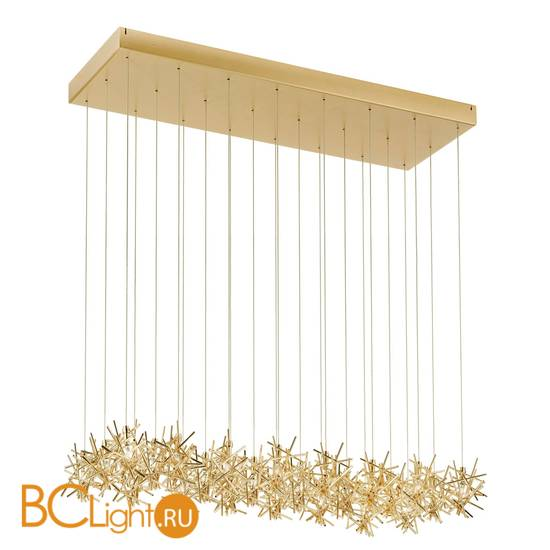 Потолочный светильник IDL Stardust 610/24 brushed matt light gold + light gold
