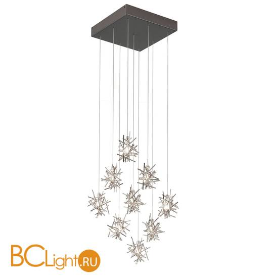 Потолочный светильник IDL Stardust 610/9 brushed matt black nickel + pure steel