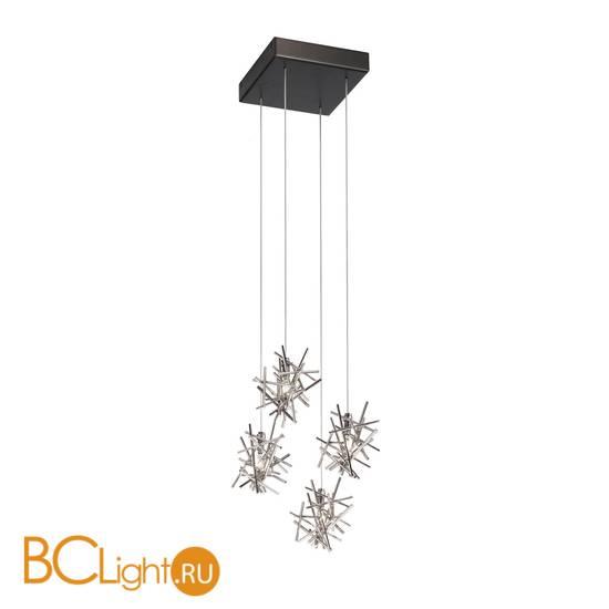 Потолочный светильник IDL Stardust 610/4 brushed matt black nickel + pure steel