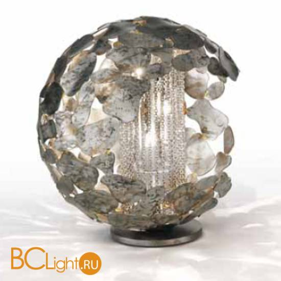 Настольная лампа IDL Twister 509/3L silver corten