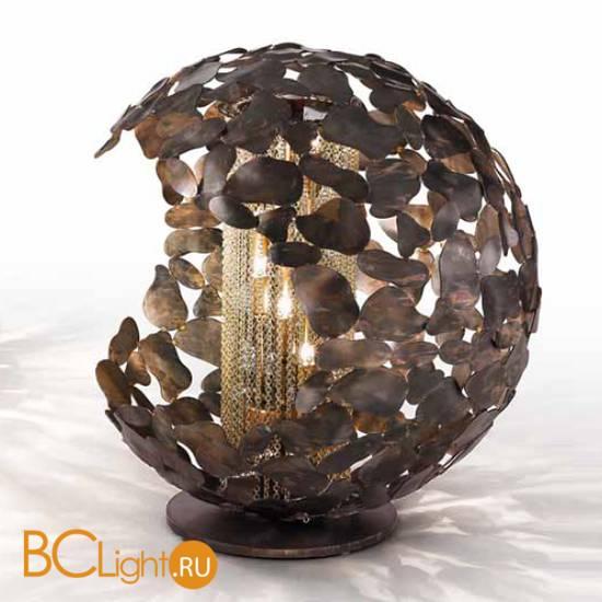Настольная лампа IDL Twister 509/4L brown corten