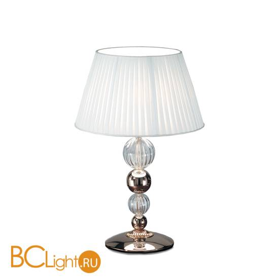 Настольная лампа IDL Vanity 585/1L black nickel white