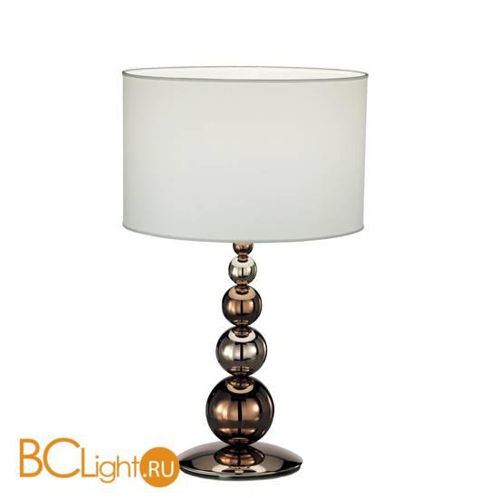 Настольная лампа IDL Vanity 584/1L steel+bronze ivory