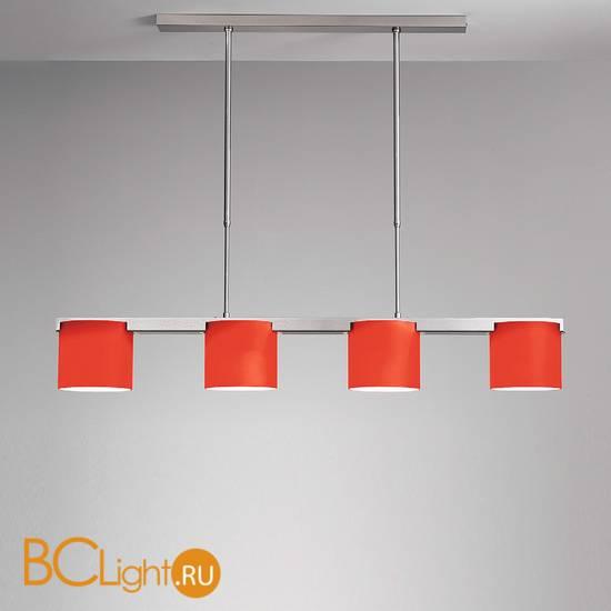 Потолочный светильник IDL Venus 9002TS/4S red