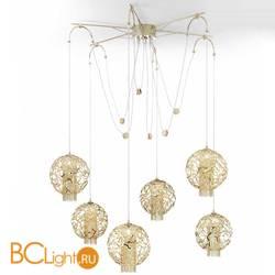 Подвесной светильник IDL Weave 514/6 light gold