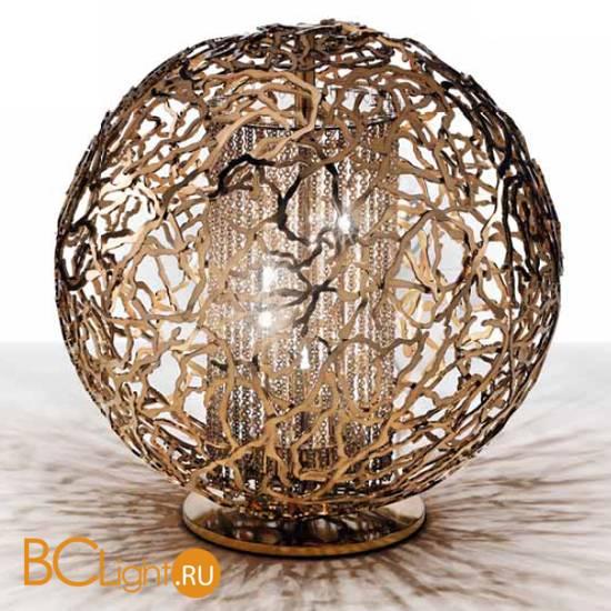 Настольная лампа IDL Weave 511/4L dark bronze