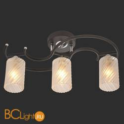 Потолочный светильник IDlamp 208/3PF-Blackchrome
