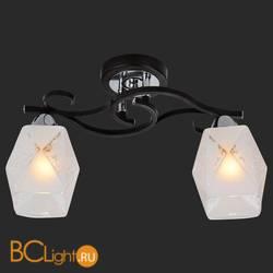 Потолочный светильник IDlamp 233/2PF-Blackchrome